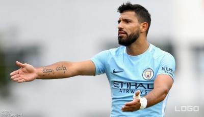 Aguero returns to City training